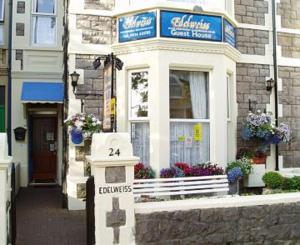Edelweiss Guest House in Weston-Super-Mare, Somerset, England
