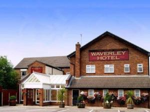 The Waverley Hotel in Crewe, Cheshire, England