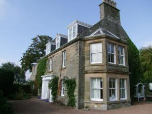 Pitlessie House in Pitlessie, Fife, Scotland