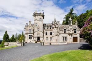 Kinnettles Castle in Forfar, Angus, Scotland
