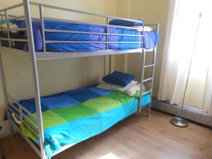 Twin Room with Bunk Bed and Shared Bathroom
