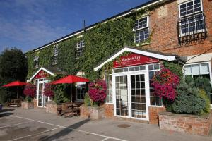 The Baskervilles Hotel in Baston, Lincolnshire, England