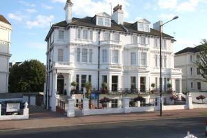 The Devonshire Park Hotel in Eastbourne, East Sussex, England