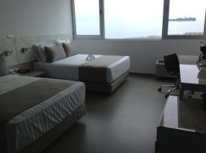 Twin Room with Beach View