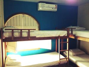 Bed in 6-Bed Female Dormitory Room with Shared Bathroom