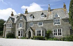 Molesworth Manor in Padstow, Cornwall, England