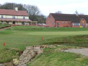 Burlish Park Golf Club in Stourport, Worcestershire, England