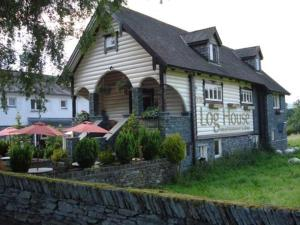 The Log House in Ambleside, Cumbria, England