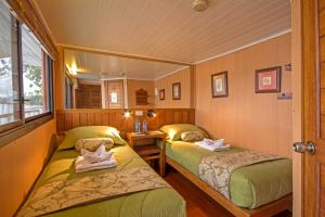 Cabin on Boat with Double Bed