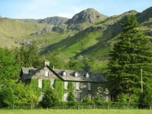 New Dungeon Ghyll Hotel in Great Langdale, Cumbria, England