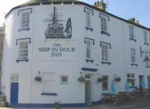 The Ship In Dock Inn in Dartmouth, Devon, England