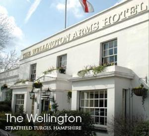 The Wellington Arms Hotel in Hook, Hampshire, England