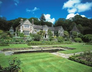 Lewtrenchard Manor in Lewdown, Devon, England