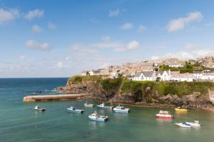 Port Gaverne Hotel in Port Isaac, Cornwall, England