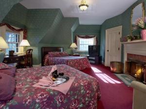 Double Deluxe Manor Room with Fireplace - Breakfast and Dinner Included