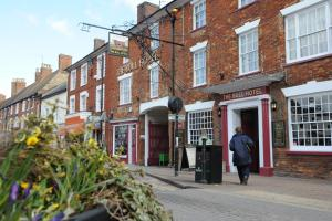 The Bull Hotel in Stony Stratford, Buckinghamshire, England