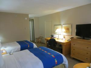 Double Room with Two Double Beds with WIFI - Non-Smoking