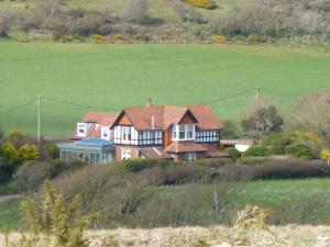 The Golf House in Totland, Isle of Wight, England