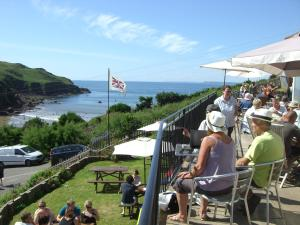 Sun Bay Hotel in Salcombe, Devon, England