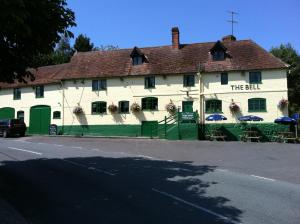 Bell Inn in Cheverell, Wiltshire, England
