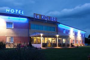Hôtel Le Kolibri, Hotels  Tournus - big - 38