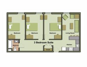 Three-Bedroom Suite