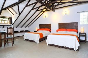 Superior Quadruple Room with Two Double Beds