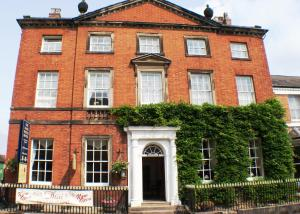 The Bank House Hotel in Uttoxeter, Staffordshire, England