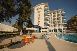 Infinity Beach Alanya: Accommodatie in hotels Konaklı - Hotels