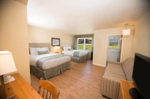 Double Room with Two Double Beds - Cottage