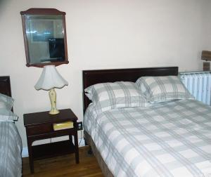 Queen Room with Two Queen Beds and Shared Bathroom
