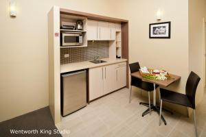 King Studio Apartment with City View