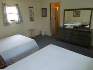 Motel Room with Two Double Beds