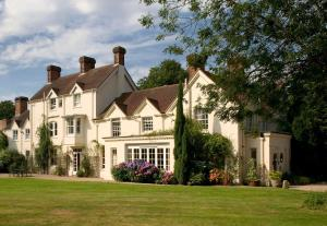 Esseborne Manor in Hurstbourne Tarrant, Hampshire, England