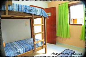 Bed in 6-Bed Male Dormitory Room with Private Bathroom