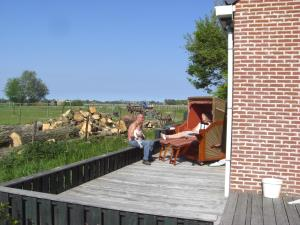 Waddenstee, Holiday homes  Westernieland - big - 29