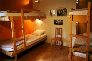 Bed in 9-Bed Male Dormitory Room