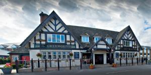 The Greyhound Hotel in Leigh, Greater Manchester, England