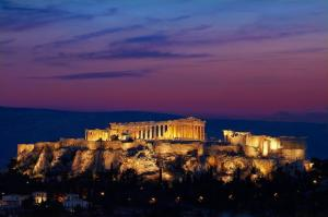 Suite Grand med utsikt over Akropolis