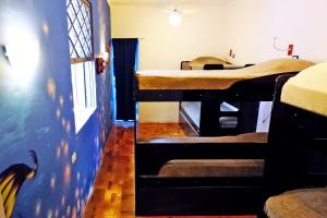 Bed in 6-Bed Dormitory Room with Internal Bathroom
