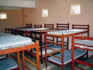 Bed in 30-Bed Female Dormitory Room