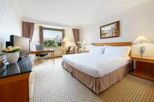 King Deluxe Room with Danube View and Executive Lounge Access