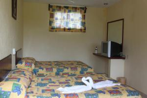 Double Room with Two Double Beds (3 Adults + 1 Child)