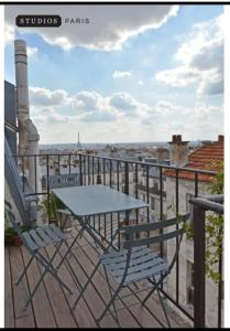 Studios Paris Appartements Montmartre with view