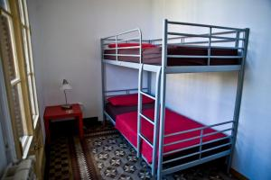 Room with Shared Bathroom and Bunk Beds