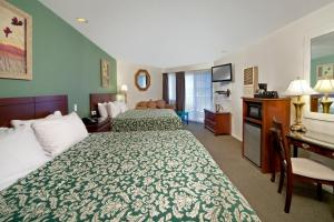 Deluxe King Room with 2 King Beds and Partial View - Disability Access