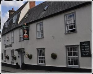 Queenshead Inn in Saffron Walden, Essex, England