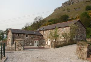 Panorama Cottages in Llangollen, Denbighshire, Wales