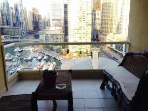 Appartamento Marina Sail Apartment, Dubai