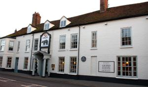 The Bear Hotel in Hungerford, Berkshire, England